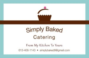 Simply Baked Catering logo