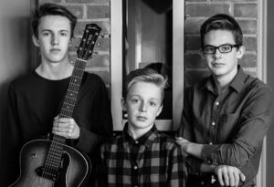 Three young brothers who make up the band Sons of Gord