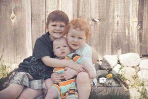 Photo of 3 children