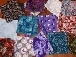 Cloth pieces