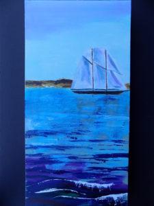 Painting of sailboat