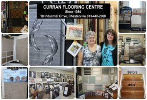 Curran Flooring collage