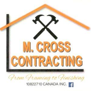 M. Cross Contracting logo