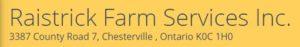 Raistrick Farm Services