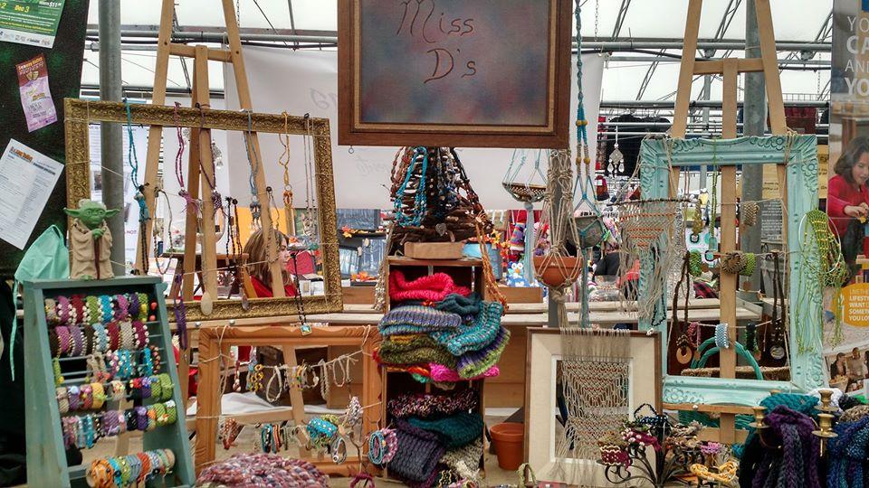 Display of artisan goods